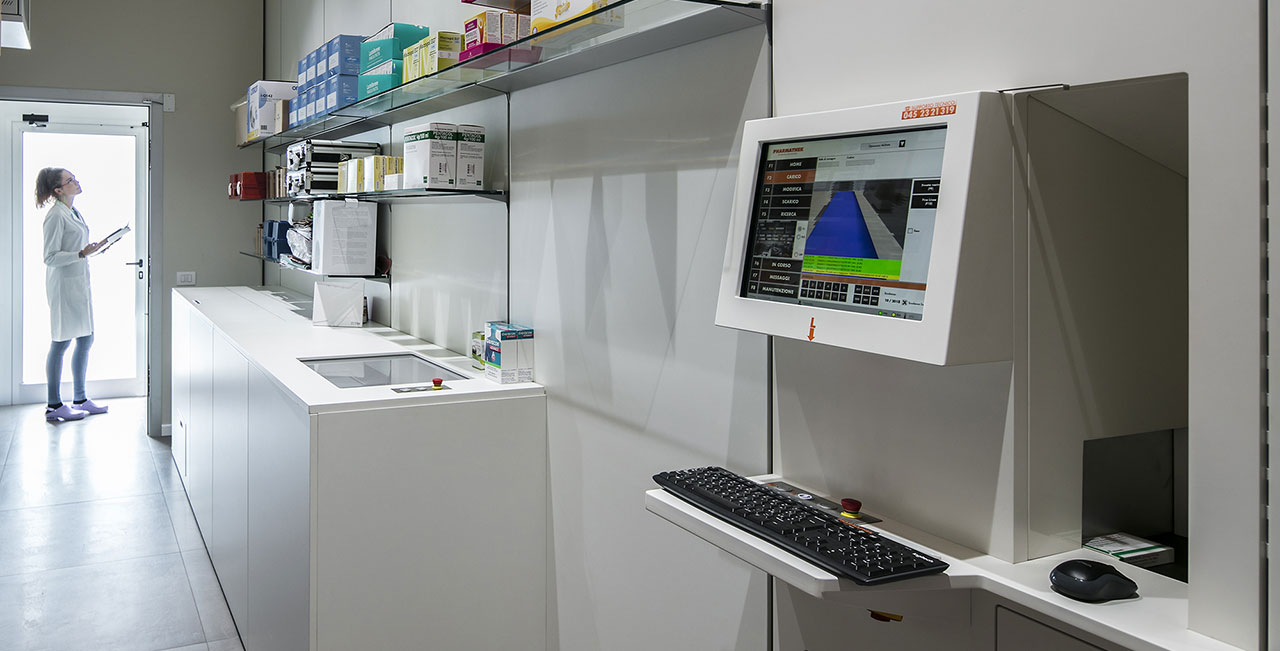 Robot Farmacia del Sole