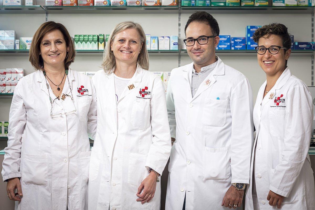 Robot farmacie Comunale di Pistoia n.2 - team farmacia
